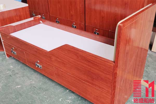 船用铝蜂窝家具 单人床